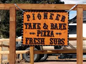 Pioneer Take and Bake Pizza Cripple Creek Dining Eat Out Restaurants Dine Food best places to eat Colorado