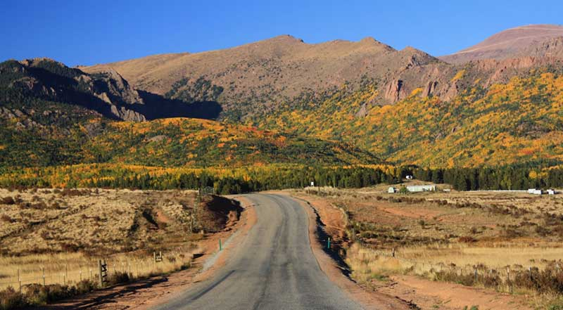 Beautiful drives to take in Colorado Cripple Creek Scenic routes