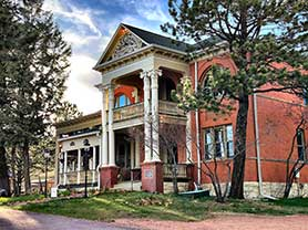Cripple Creek Hospitality House and Travel Park Bed and Breakfast Cripple Creek Victor Lodging Places to Stay Hotels Motels Air BNB
