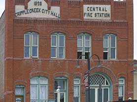 Cripple Creek City Hall Parks and Trails Fun summer things to do