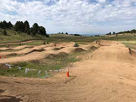City parks trails Cripple Creek Colorado Adventure Park BMX