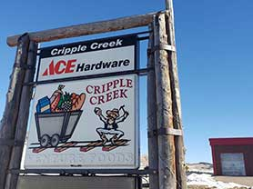 Cripple Creek ACE Hardware Shopping shop retail Cripple Creek Store Boutique Unique Gifts