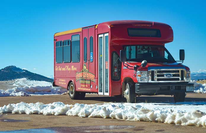 Scenic Drive to Cripple Creek Colorado Bus Schedules Transit Transportation